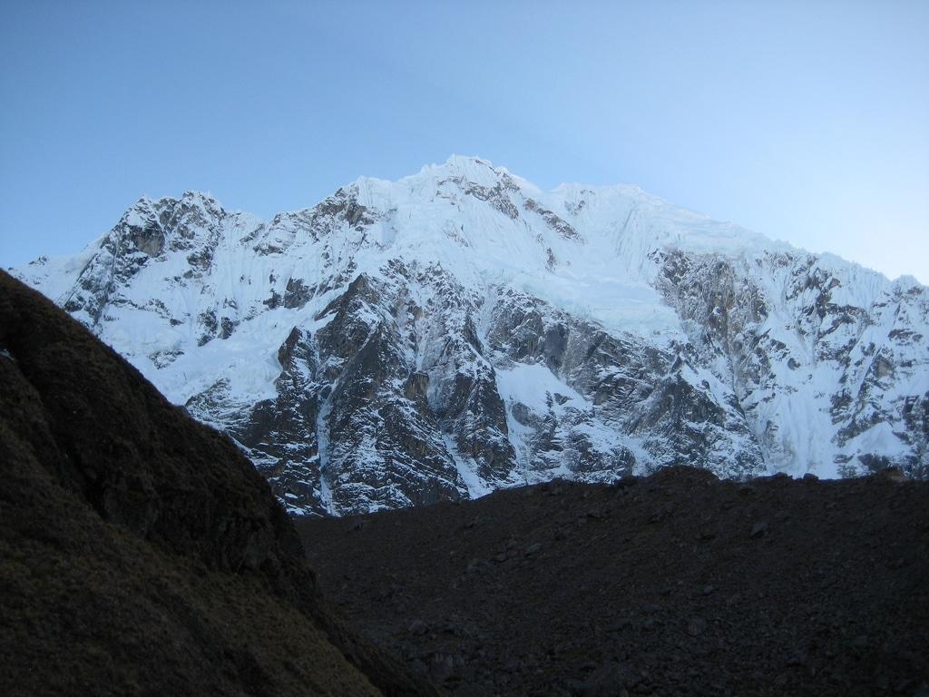 glacier de salkantay | trek au pérou cordillère de vilcabamba