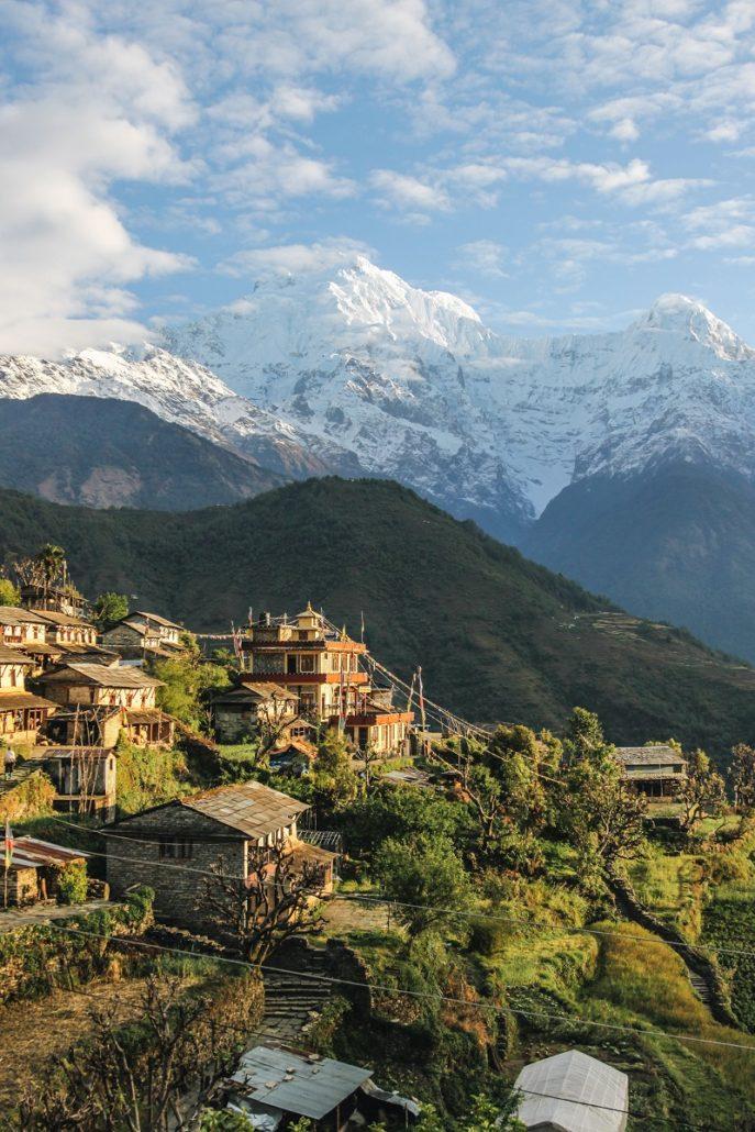 Trek au Népal | Balcon des Annapurnas